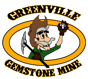 Greenville Gemstone Mine Logo