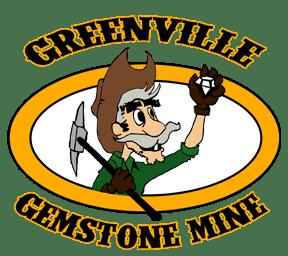 Greenville Gemstone Mine Logo